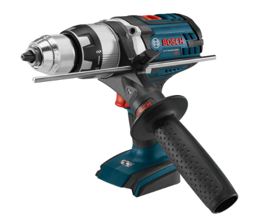 8. Bosch HDH181XB Bare-Tool 18V Brute Tough 1/2″ Hammer Drill/Driver with Active Response Technology